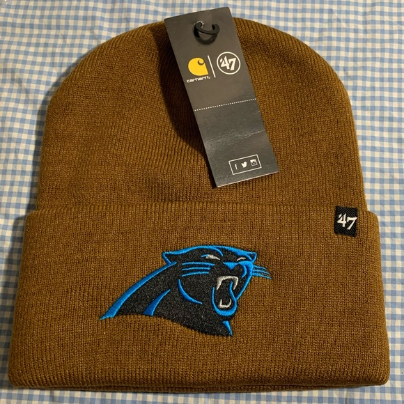 Carhartt Other - Carolina panthers Carhart X '47 cuff knit  beanie